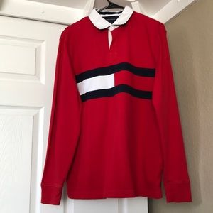 Men's Tommy Hilfiger Long Sleeve Polo